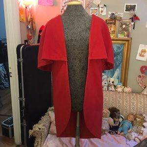 The little Red riding hood cape cover up